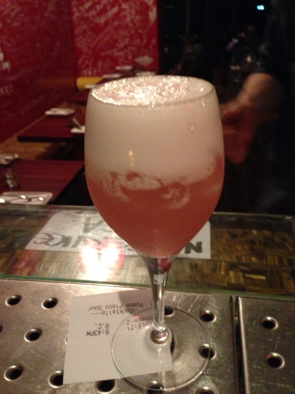 Pome Pisco Sour